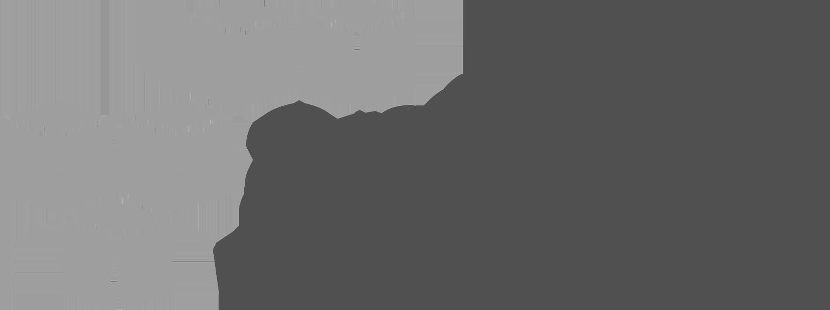 Amazon web services logo - black and white
