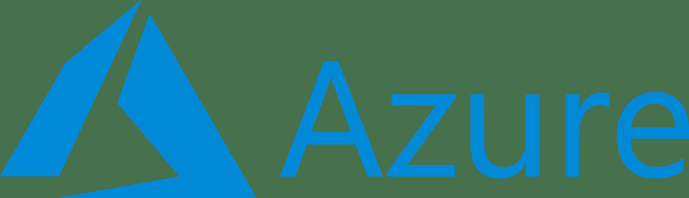 Microsoft Azure logo - large