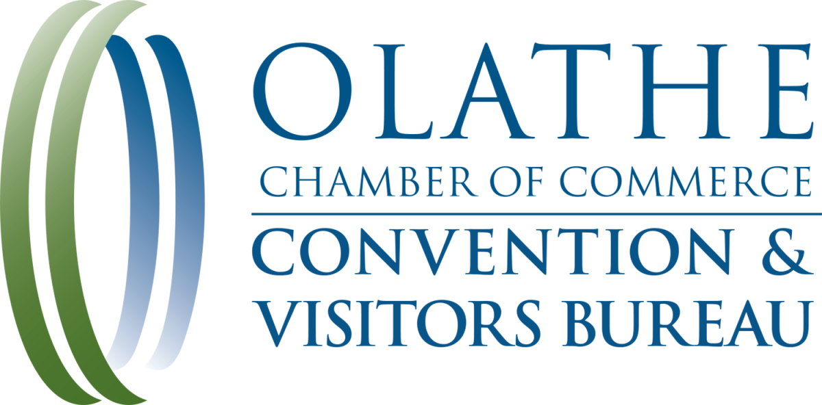 Olathe chamber of commerce convention and visitors bureau logo